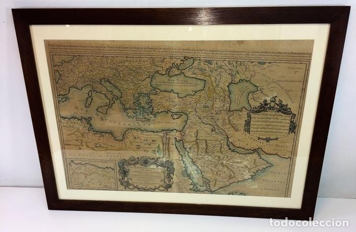 Arte: LES ESTATS DE LEMPIRE DU GRAND SEIGNEUR DES TURCS EN ASIE (...). JAILLOT. PARIS 1689 - Foto 3 - 98445375