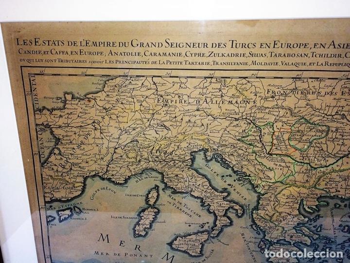 Arte: LES ESTATS DE LEMPIRE DU GRAND SEIGNEUR DES TURCS EN ASIE (...). JAILLOT. PARIS 1689 - Foto 4 - 98445375