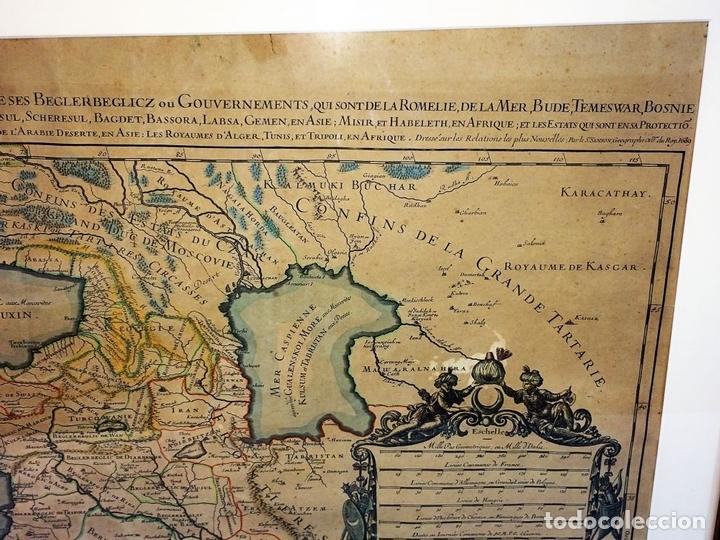 Arte: LES ESTATS DE LEMPIRE DU GRAND SEIGNEUR DES TURCS EN ASIE (...). JAILLOT. PARIS 1689 - Foto 5 - 98445375