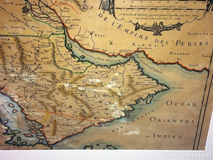 Arte: LES ESTATS DE LEMPIRE DU GRAND SEIGNEUR DES TURCS EN ASIE (...). JAILLOT. PARIS 1689 - Foto 6 - 98445375