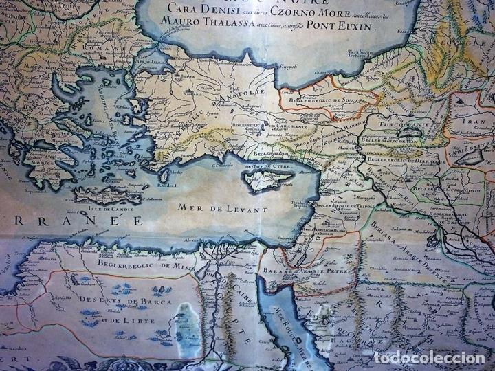 Arte: LES ESTATS DE LEMPIRE DU GRAND SEIGNEUR DES TURCS EN ASIE (...). JAILLOT. PARIS 1689 - Foto 9 - 98445375