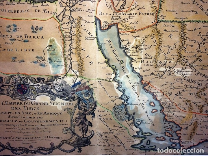 Arte: LES ESTATS DE LEMPIRE DU GRAND SEIGNEUR DES TURCS EN ASIE (...). JAILLOT. PARIS 1689 - Foto 11 - 98445375