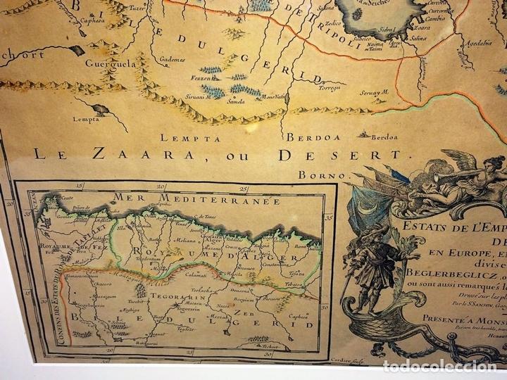 Arte: LES ESTATS DE LEMPIRE DU GRAND SEIGNEUR DES TURCS EN ASIE (...). JAILLOT. PARIS 1689 - Foto 12 - 98445375