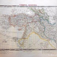 Arte: TURQUIA ASIATICA. ALABERN RAMON (GRABADOR) 1833. Lote 100158267