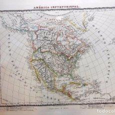 Arte: AMÉRICA SEPTENTRIONAL. ALABERN PABLO (GRABADOR) 1833. Lote 100164083