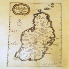 Arte: MAPA ANTIGUO DE LAS ISLAS MAURICIO 1714 CON CERTIFICADO AUTENTIC. MAPAS ANTIGUOS ISLAS MAURICIO. Lote 58731253
