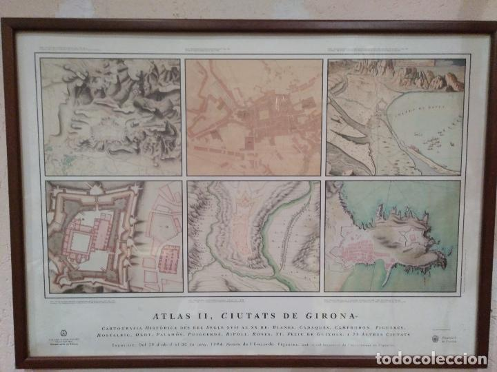 CARTOGRAFIA HISTORICA DES DEL SEGLE XVII AL XX. ATLAS II, CIUTATS DE GIRONA. (Arte - Cartografía Antigua (hasta S. XIX))