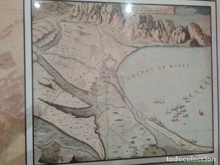 Arte: CARTOGRAFIA HISTORICA DES DEL SEGLE XVII AL XX. ATLAS II, CIUTATS DE GIRONA. - Foto 5 - 103111787