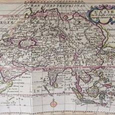 Arte: ASIA, MAPA POR N. SANSON, 1743, L´ASIE. Lote 103587891