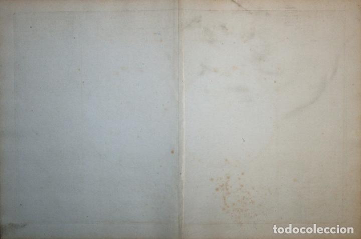 Arte: Mapa geológico del mundo, 1790. Mornas/Desnos - Foto 3 - 103637655