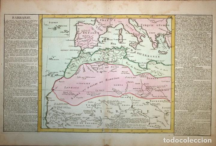 mapa del norte de frica islas canarias marru Comprar