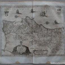 Arte: ANTIGUO MAPA DE PORTUGAL, 1695. MERIAN. Lote 103659755