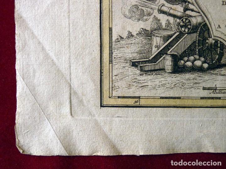 Arte: GRAN MAPA ORIGINAL DE ALEMANIA. COVENS ET MORTIER, AMSTELODAMI, 1741. 67,5x54,5 cm., ENMARCADO - Foto 6 - 103747183