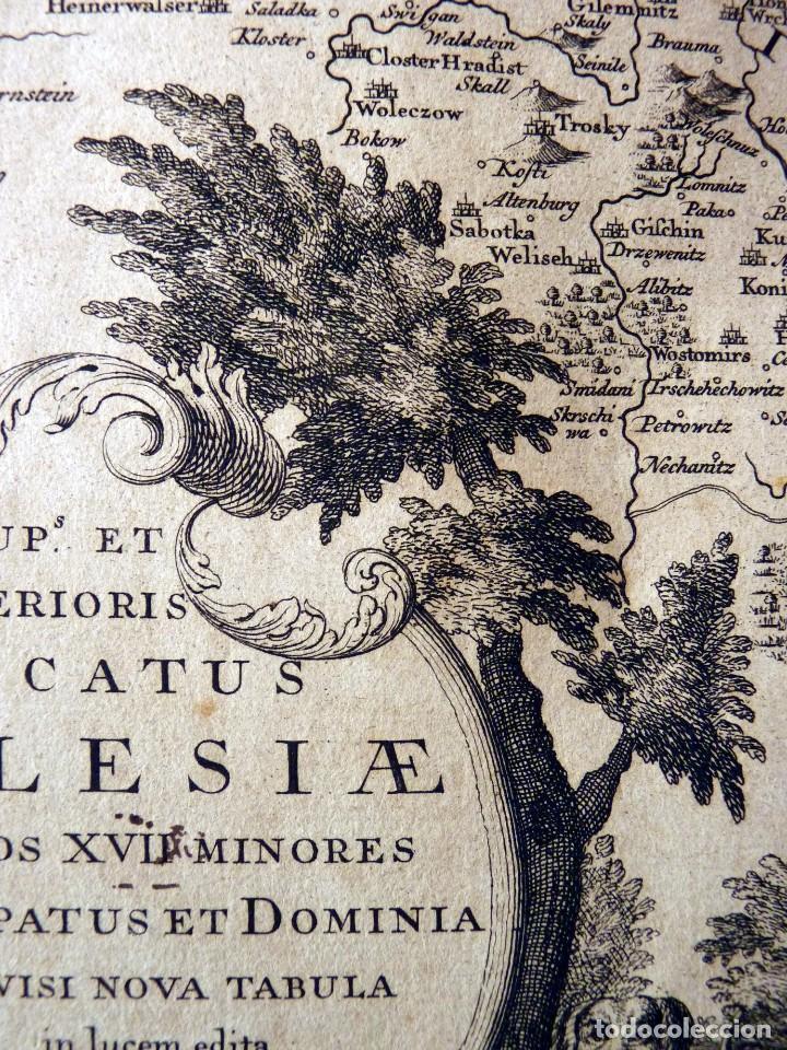 Arte: GRAN MAPA ORIGINAL DE ALEMANIA. COVENS ET MORTIER, AMSTELODAMI, 1741. 67,5x54,5 cm., ENMARCADO - Foto 8 - 103747183