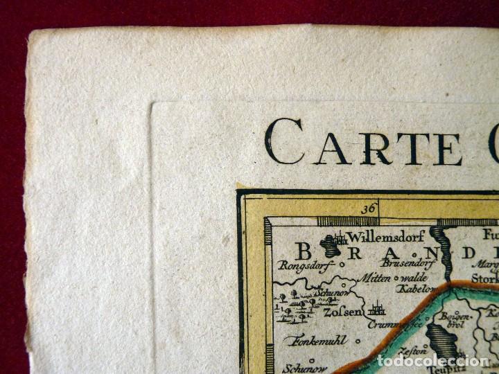 Arte: GRAN MAPA ORIGINAL DE ALEMANIA. COVENS ET MORTIER, AMSTELODAMI, 1741. 67,5x54,5 cm., ENMARCADO - Foto 13 - 103747183
