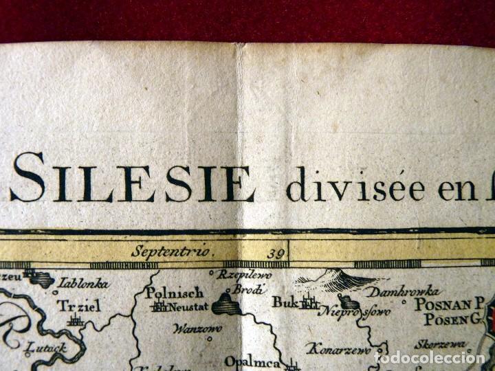 Arte: GRAN MAPA ORIGINAL DE ALEMANIA. COVENS ET MORTIER, AMSTELODAMI, 1741. 67,5x54,5 cm., ENMARCADO - Foto 14 - 103747183