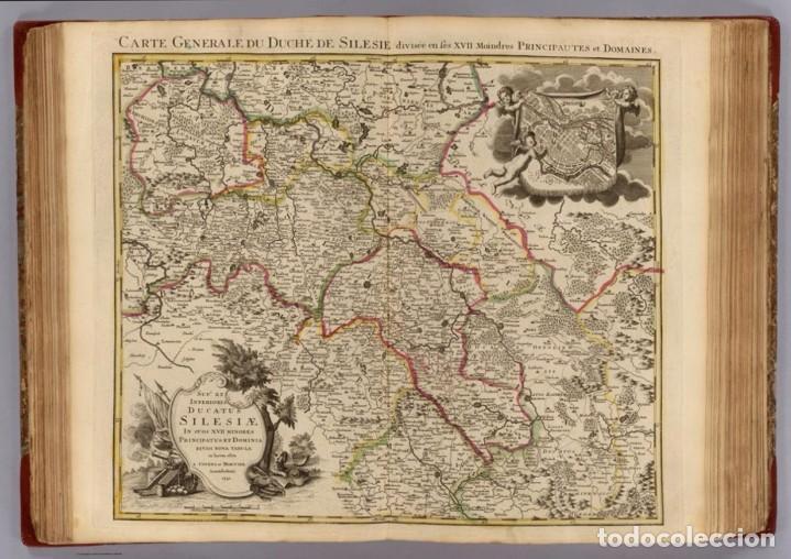 Arte: GRAN MAPA ORIGINAL DE ALEMANIA. COVENS ET MORTIER, AMSTELODAMI, 1741. 67,5x54,5 cm., ENMARCADO - Foto 21 - 103747183