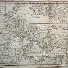 Arte: MAPA DEL ANTIGUO IMPERIO ROMANO, 1711. CLUVER/ MOLL/NICHOLSONI. Lote 103906655