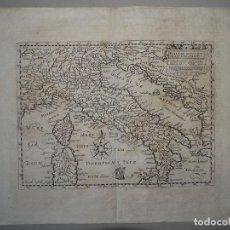 Arte: ANTIGUO MAPA DE ITALIA, CIRCA 1650. DAVID CUSTOS. Lote 103915967