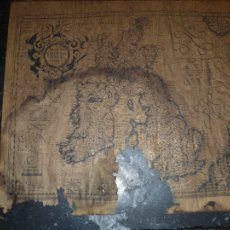 Arte: MAPA ANGLIA SCOTIA ET HIBERNIA PER GERARDUM MERCATOREM AÑO1607 . Lote 104297967