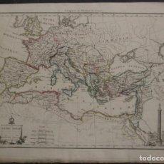 Arte: MAPA DEL ANTIGUO IMPERIO ROMANO,18480. MALTE BRUN. Lote 104304523