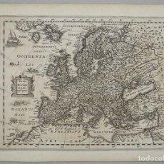 Arte: MAPA DE EUROPA, 1660. CLÜVER. Lote 104552531