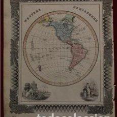 Arte: MAPA DE AMÉRICA, 1870. MACDONALD. Lote 104602867