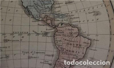 Arte: Mapa de América, 1870. Macdonald - Foto 5 - 104602867