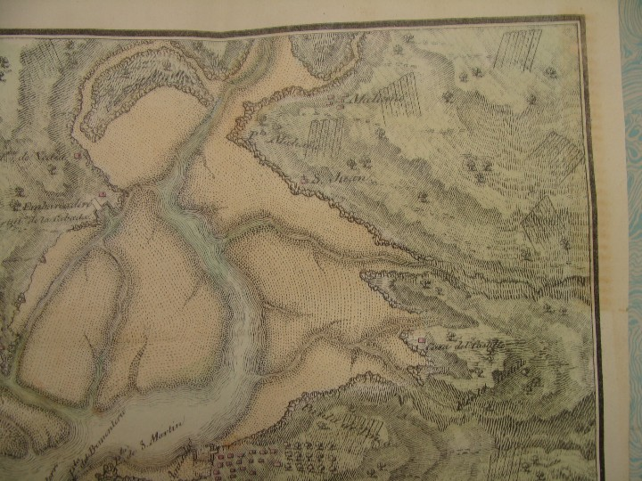 Arte: PRECIOSO PLANO RÍA Y PUERTO DE SANTANDER. 1828. ACUARELADO. 24X31 CM. LITOGRAFÍA PRIMITIVA. - Foto 5 - 106006931