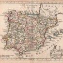 Arte: MAPA DE ESPAÑA - AÑO 1785. Lote 106702511