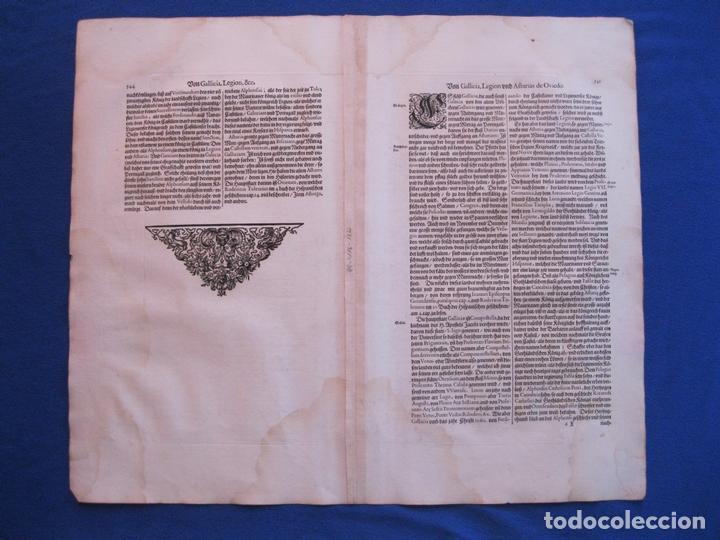 Arte: Gran mapa de Galicia (España), 1633. Mercator/Hondius - Foto 6 - 106961491