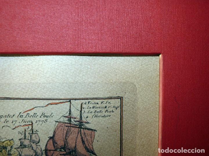 Arte: BANDERAS DE BARCOS. TABLEAU DE TOUS LES PAVILLONS QUE LON ARBORE SUR LES VAISSEAUX DANS LES QUATRE P - Foto 6 - 107315999