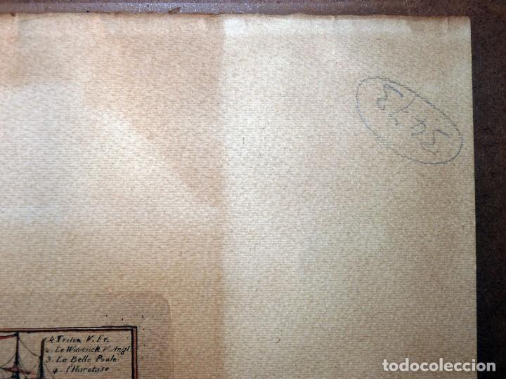 Arte: BANDERAS DE BARCOS. TABLEAU DE TOUS LES PAVILLONS QUE LON ARBORE SUR LES VAISSEAUX DANS LES QUATRE P - Foto 19 - 107315999