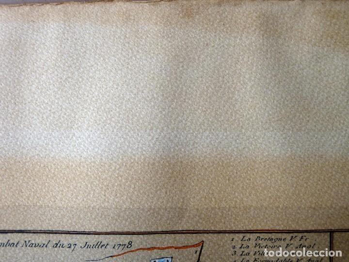 Arte: BANDERAS DE BARCOS. TABLEAU DE TOUS LES PAVILLONS QUE LON ARBORE SUR LES VAISSEAUX DANS LES QUATRE P - Foto 22 - 107315999