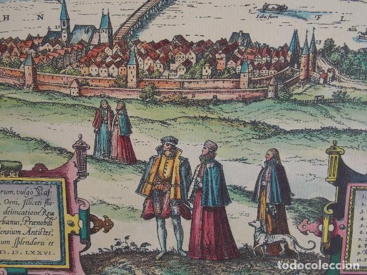 Arte: cartografía antigua Alemania germania kartographica calendario mapa atlas lamina - Foto 2 - 107384103