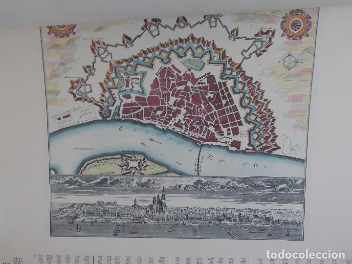 Arte: cartografía antigua Alemania germania kartographica calendario mapa atlas lamina - Foto 5 - 107384103