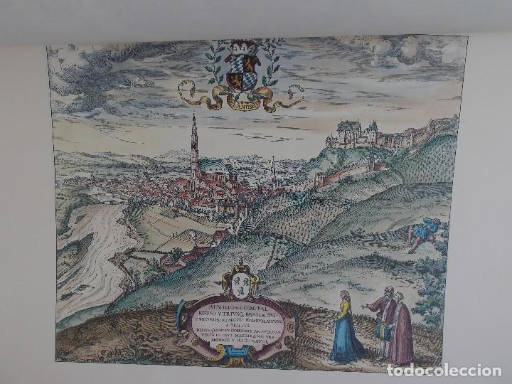 Arte: cartografía antigua Alemania germania kartographica calendario mapa atlas lamina - Foto 6 - 107384103