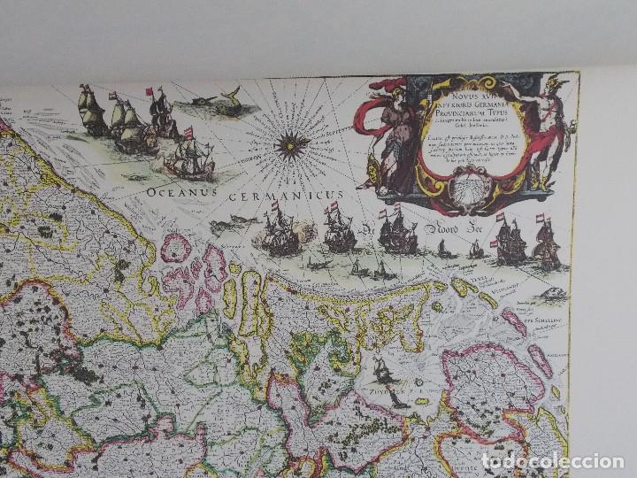 Arte: cartografía antigua Alemania germania kartographica calendario mapa atlas lamina - Foto 9 - 107384103