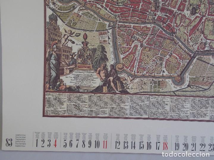 Arte: cartografía antigua Alemania germania kartographica calendario mapa atlas lamina - Foto 10 - 107384103