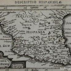 Arte: MAPA DE MÉXICO, 1616. BERTIUS/HONDIUS. Lote 108848271