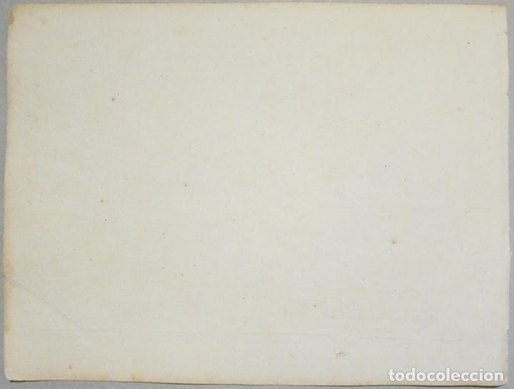 Arte: Mapa del Golfo de Rosas en Girona ñCataluña (España),18004. Joseph Roux - Foto 5 - 108923263