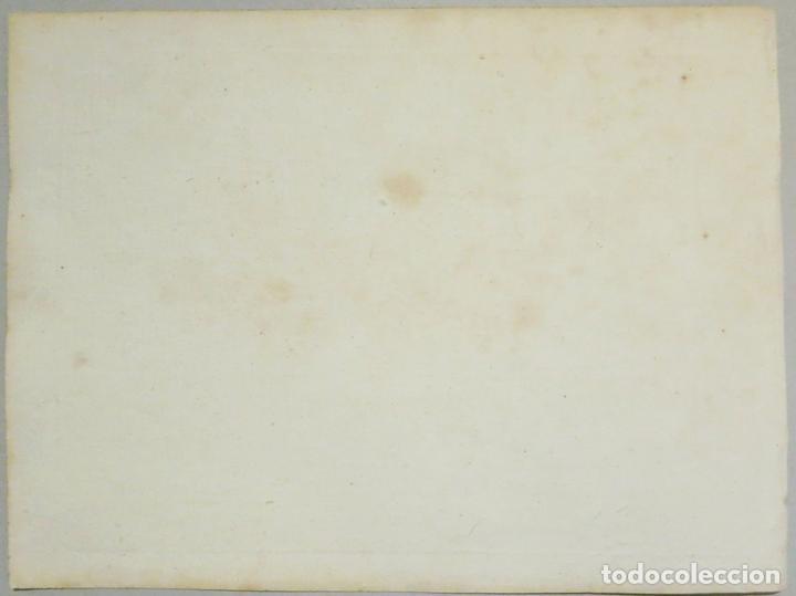 Arte: Mapa de la bahía de Cadaqués ( Cataluña, Costa Brava), 1804. Joseph Roux - Foto 5 - 108923867