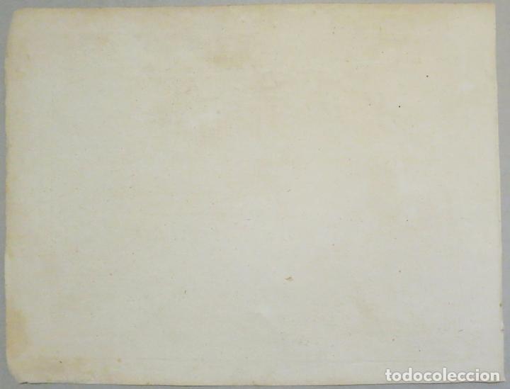 Arte: Mapa del puerto y bahía de Málaga (España), 1804. Joseph Roux - Foto 5 - 108924603
