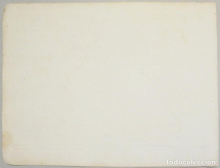 Arte: Bahía de Alicante (España), 1804. Joseph Roux - Foto 5 - 108924727