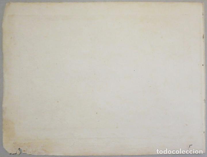 Arte: Mapa del puerto y la bahía de Cádiz (España), 1804.Joseph Roux - Foto 5 - 108924895