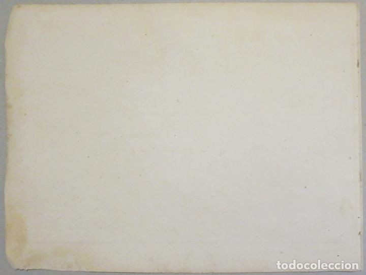 Arte: Mapa del puerto y la bahía de Gibraltar ( sur de España ), 1804. Joseph Roux - Foto 5 - 108925047