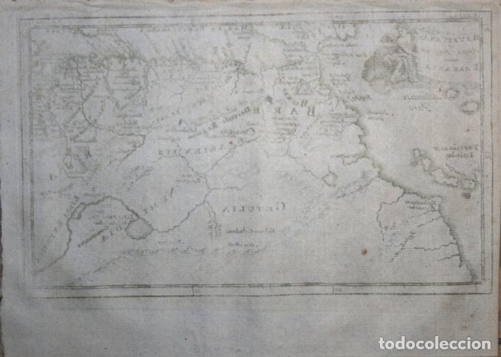 Arte: Mapa del nortoeste de África, 1711. Bunone/Clüver - Foto 2 - 108925739