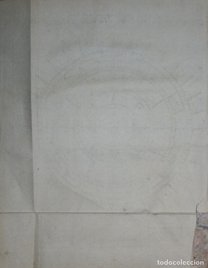 Arte: Rosa de los Vientos, 1711. Bunone/ Clüver - Foto 2 - 108925835
