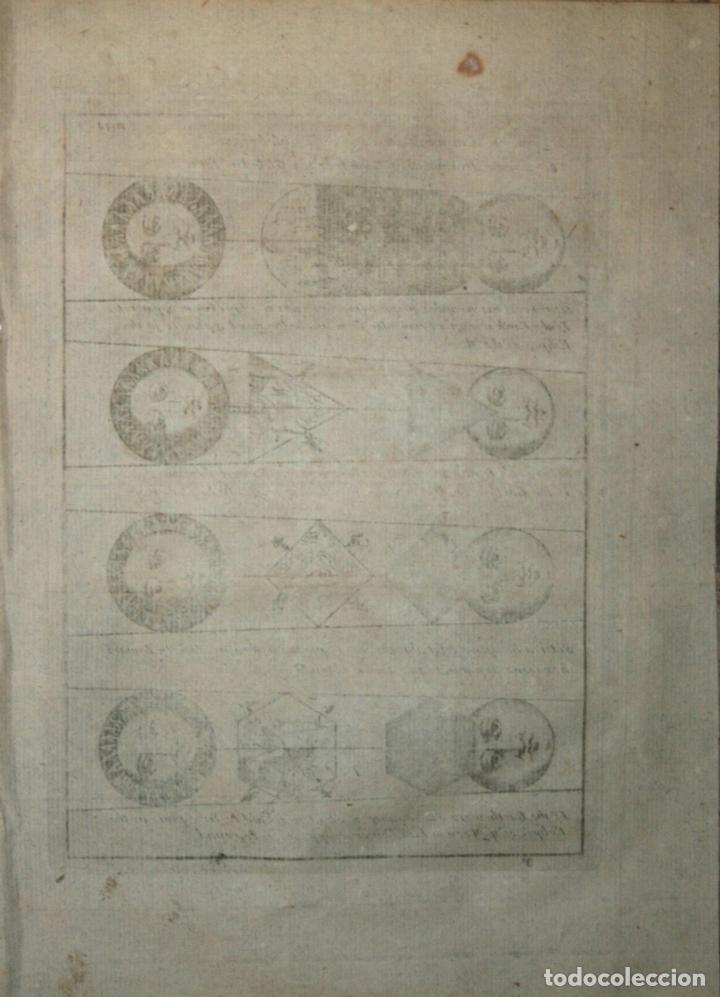 Arte: Forma globular de la Tierra, el Sol y la Luna, 1711. Bunone/Clüver - Foto 2 - 108925895