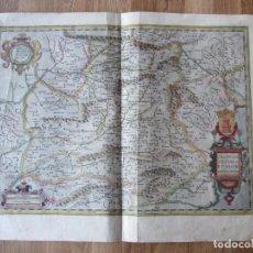 Arte: 1606-MAPA CASTILLA.MERCATOR.SALAMANCA.CUENCA.MURCIA.SIGÜENZA.AVILA.PALENCIA.VALLADOLID.BURGOS.ALCALÁ. Lote 109301651